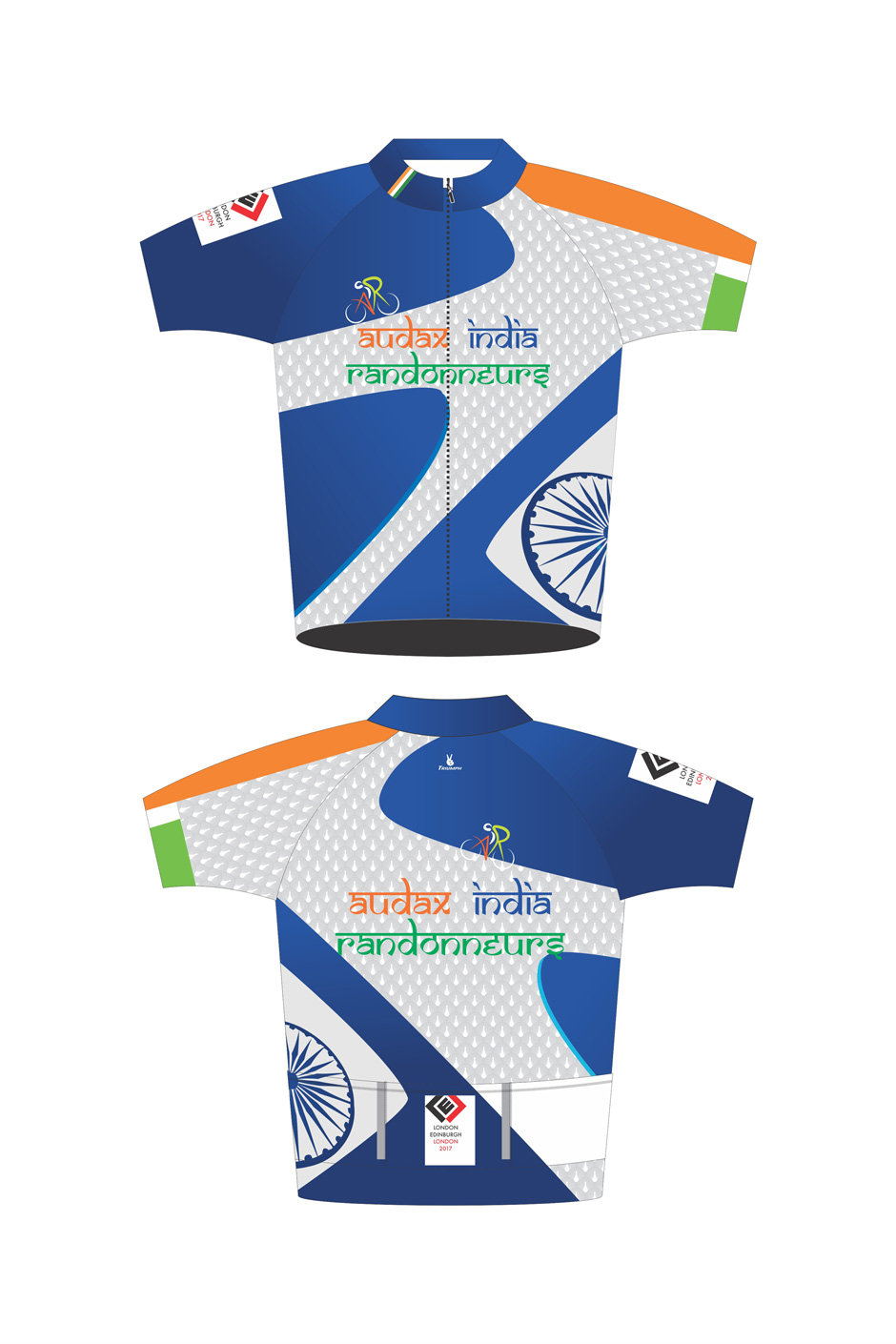 Audax India at LEL Half Sleeve Jersey  426a0acd9