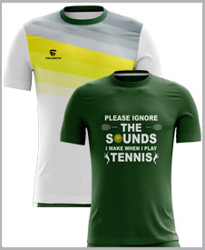 Men Tennis Tshirts