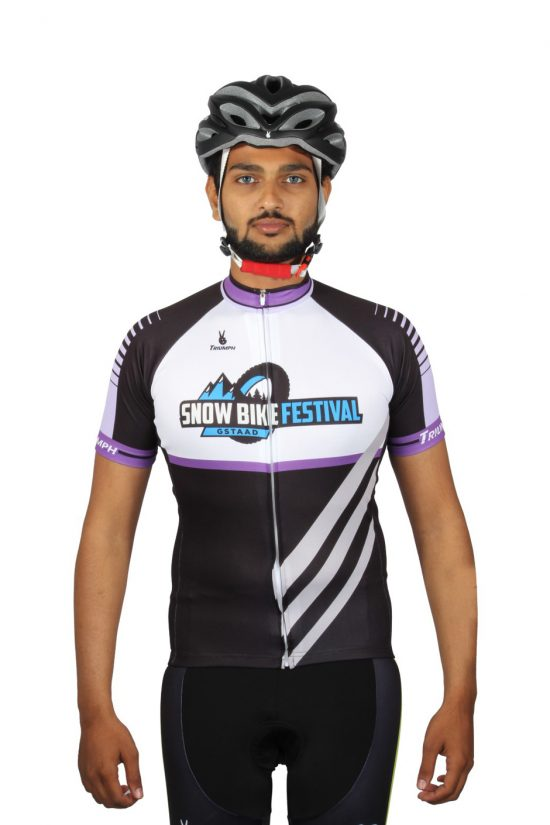 Printed Cycling Jersey