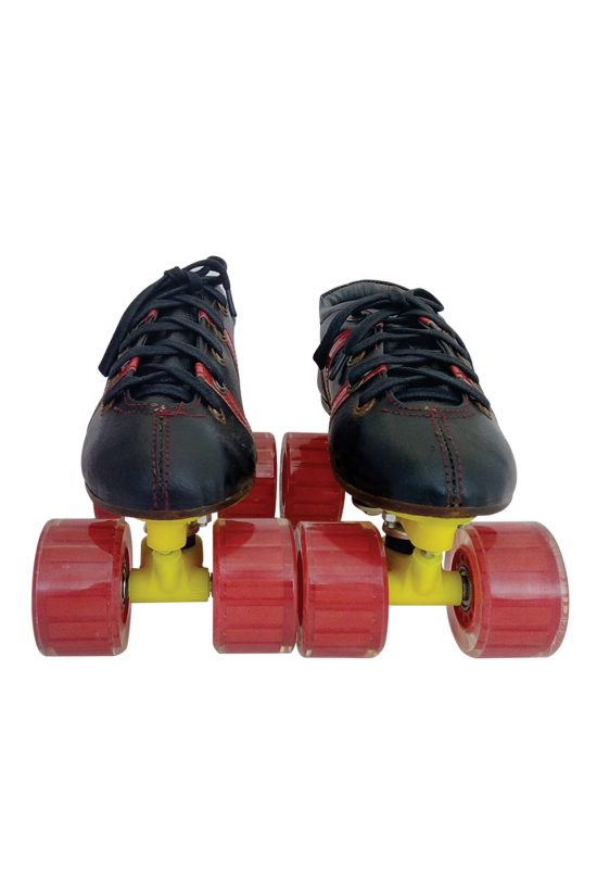 Quad Skate Clear Red Hyper Strada Package