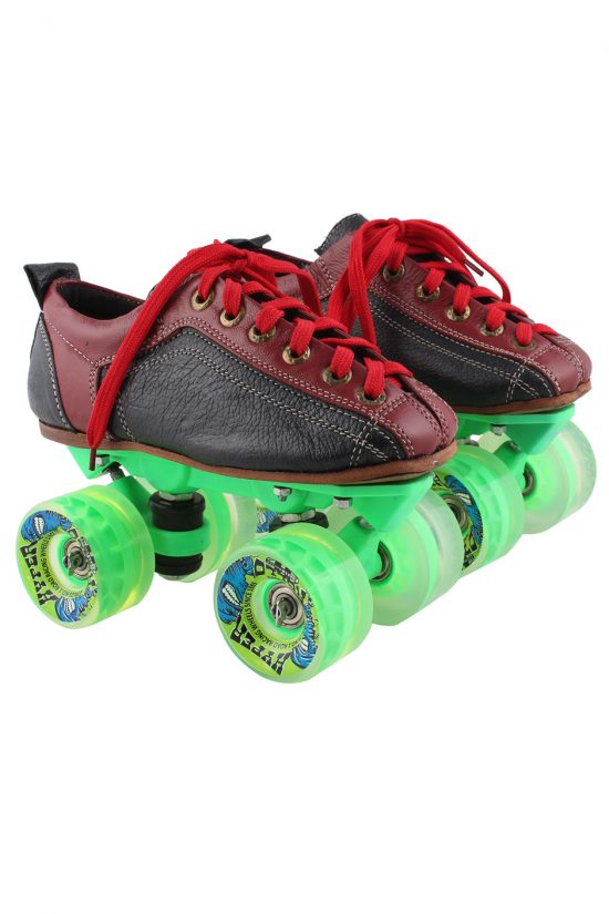 Quad Skate Hyper Rollo Clear Green Package