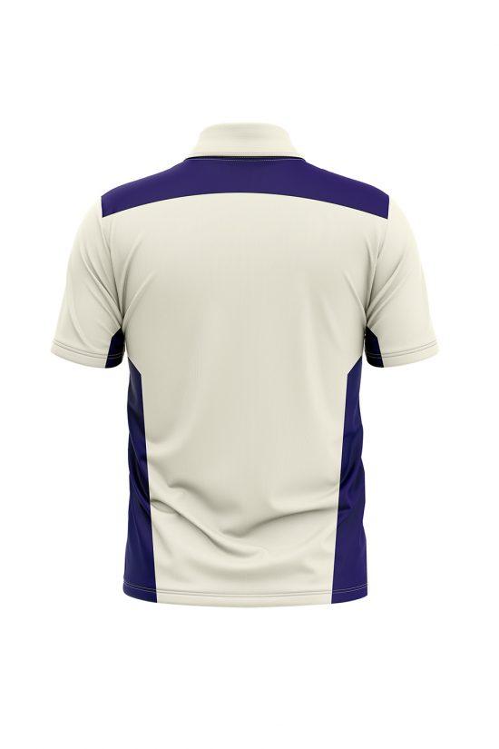 White Cricket Jersey Design | White T Shirt Cricket | Custom Cricket Top Wear