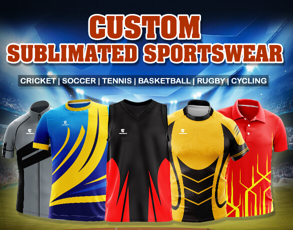 b19f079a68e Custom Sublimated Sportswear Manufacturer