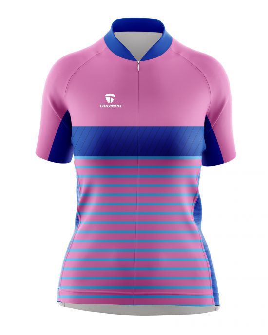 Women's Polyester Compression Cycling Tshirt