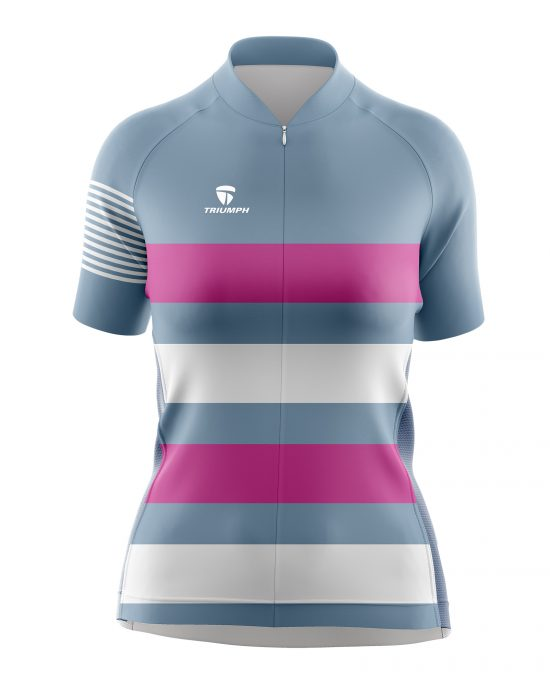 Half Sleeve Dri Fit Bicycle T-shirt for Women