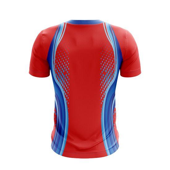 Half Sleeve Cricket T-Shirt For Men's