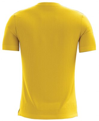 Om Printed Casual T-shirt Yellow