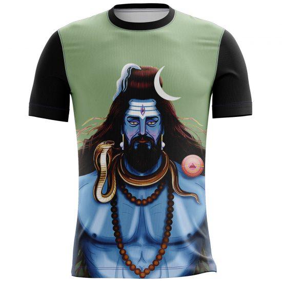 Shiva Full Printed Casual T-shirt