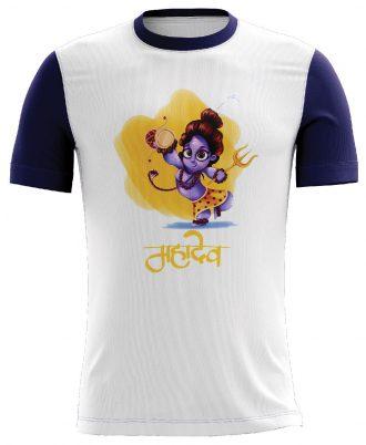 Mahadev Sibling Printed Casual T-shirt