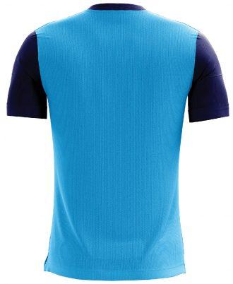 Mahadev Slogan Printed Casual T-shirt Sky Blue