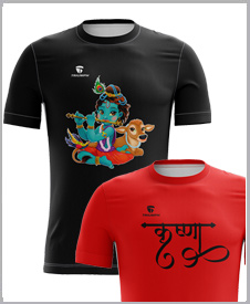 Krishna Casual T-shirt