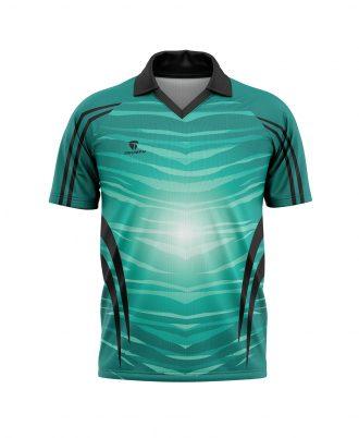Digital printing cricket team jersey