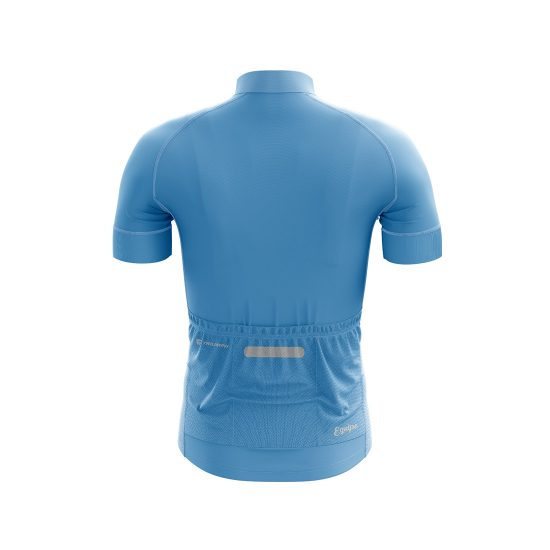 Men's Polyester Full Sublimated Cycling Wear SKY Blue