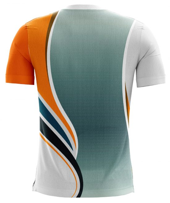 Half Sleeve Sports Printed Soccer Jersey for Boy's