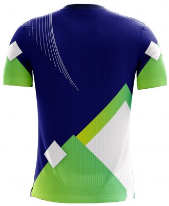 Men's Sweat Resistance Polyester Printed Soccer Jersey