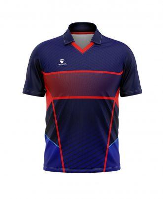 Full Sublimation Cricket Club Jersey New Pattern Cricket Sports Shirt