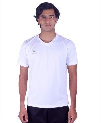 Men's White Sports T-shirts